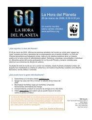 La Hora del Planeta - WWF