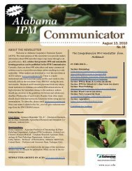 Issue 14 of the IPM - Alabama Cooperative Extension System