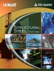 Structural Steel Catalog - Hobart Brothers