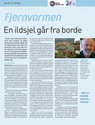 En ildsjel går fra borde - Norsk Fjernvarme