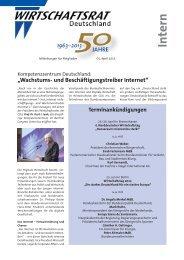 Intern - Wirtschaftsrat der CDU e.V.