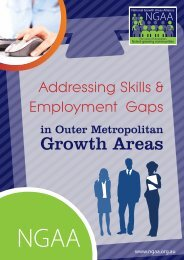 Addressing Skills and Employment Gaps in Outer Metropolitan ...