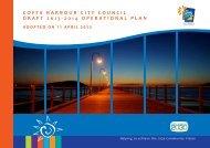coffs harbour city council draft 2013-2014 operational plan