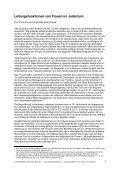 Leitungsfunktionen von Frauen im Judentum - TheBe - Seite 7
