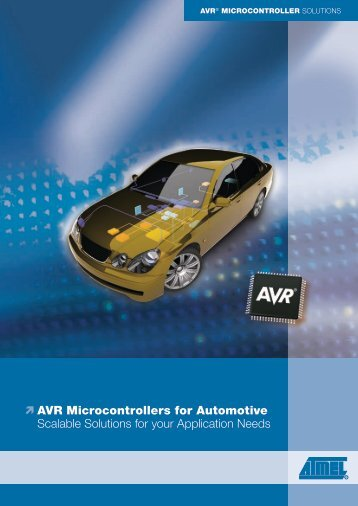 AVR Microcontrollers for Automotive - Timloto
