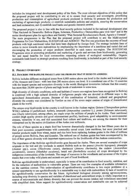 PIF Document for WPI - Global Environment Facility