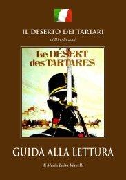 GUIDA ALLA LETTURA il deserto dei tartari - tipografia bagnoli 1920
