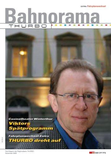 Viktors Spätprogramm THURBO dreht auf