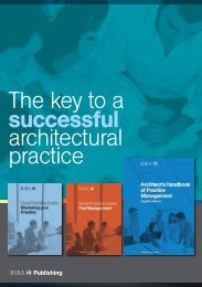 The key to a successful architectural practice - RIBA Bookshops