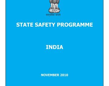 State Safety Programme - India - Directorate General of Civil Aviation