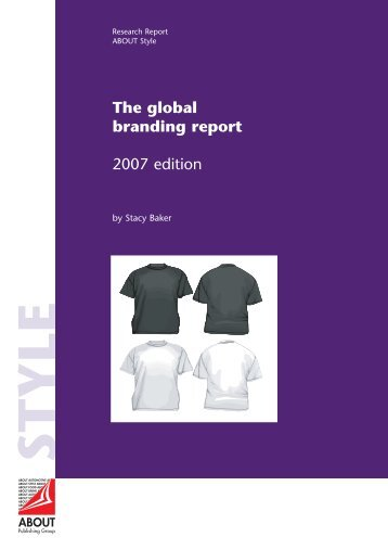 The global branding report: 2007 Edition - ABOUT Publishing Group ...