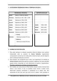 1.- categorías federadas para a tempada 2012/2013 - Federación ...