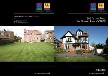 259 Ashley Road - Watersons Independent Estate Agents