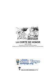 LA CORTE DE HONOR - Scouts Sant Yago