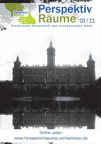Ausgabe Heft 1 (2011), 3 Ausgabe.indb - PerspektivRäume ...