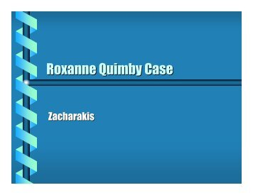 case study of roxanne quimby How to write a good case study how to write a summary of an article roxanne quimby why is roseanne glumly successful roseanne is successful because she saw an opportunity to create something and went for it  we will write a custom essay sample on roxanne quimby specifically for you for only $1638 $139/page order now jennyfer from.