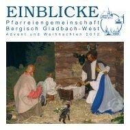 Pfarrbrief Weihnachten - St. Clemens Paffrath