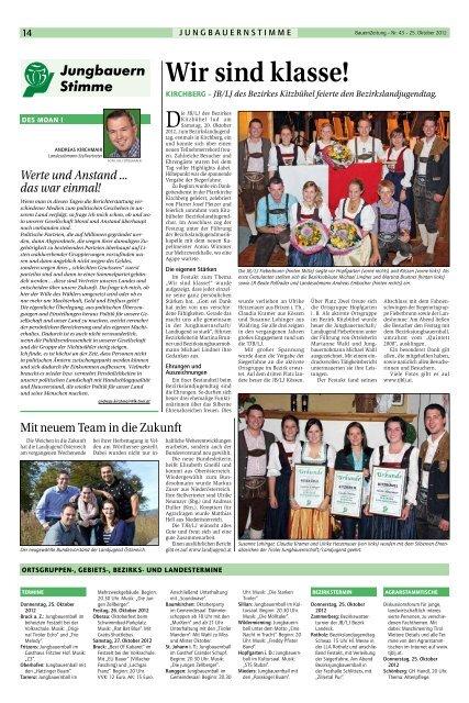 Agrargemeinschaft: Experten - Tiroler Bauernbund