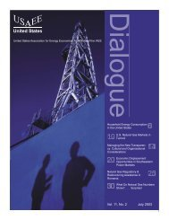 Vol. 11, No. 2 July 2003 - United States Association of Energy ...