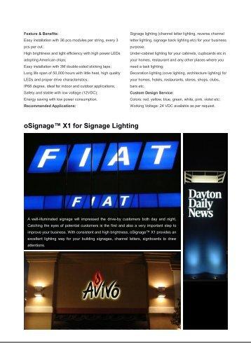 X1 Product Manual - Del Lighting