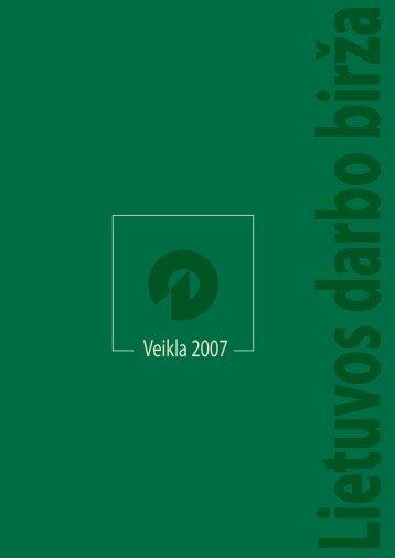 Veikla 2007 - Lietuvos darbo birža