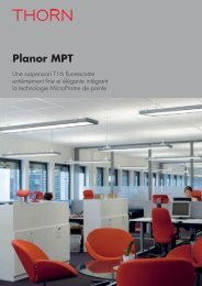 Planor MPT - THORN Lighting [Accueil]