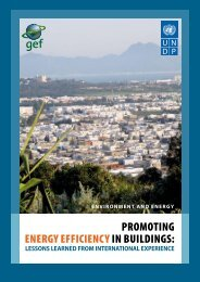 Promoting Energy efficiency in buildings - Global Environment Facility