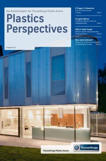 Plastics Perspectives - ThyssenKrupp Plastics Austria