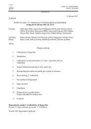 8. februar 2013 Godkendt Referat fra møde 1/13 i - For Studerende ...