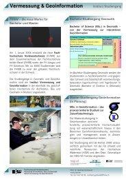 Vermessung & Geoinformation - SOGI
