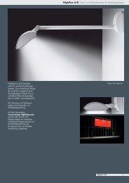 Nightline A/B Wand- und Deckenleuchten für Entladungslampen