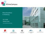 Klima-Exzellenz in Hamburg - Institute of Coastal Research