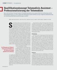Qualifikationskonzept Telemedizin-Assistent - Deutsche Stiftung für ...