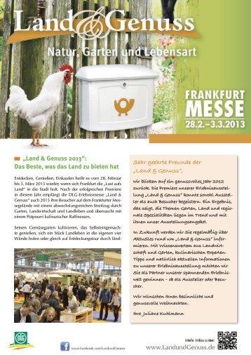 """""""Land & Genuss 2013"""": Das Beste, was das Land zu bieten hat Sehr ..."""