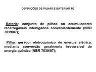 DEFINIÇÕES DE PILHAS E BATERIAS 1/2 - ASEC
