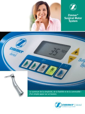 Zimmer® Surgical Motor System - Zimmer Dental