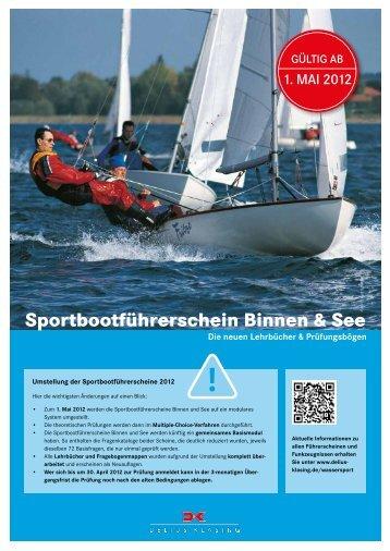 Sportbootführerschein Binnen & See