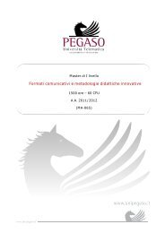 Formati comunicativi e metodologie didattiche innovative