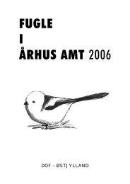 FUGLE I ÅRHUS AMT 2006 - DOF Østjylland
