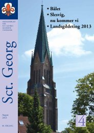 Sct. Georg 04/13 - Sct. Georgs Gilderne