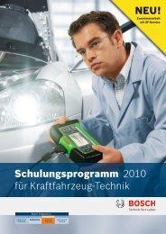 DE - Bosch - Werkstattportal