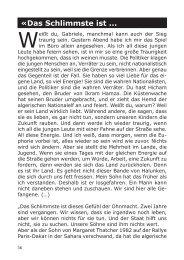 Das Schlimmste ist ...... die Ohnmacht! - von Loeper Literaturverlag