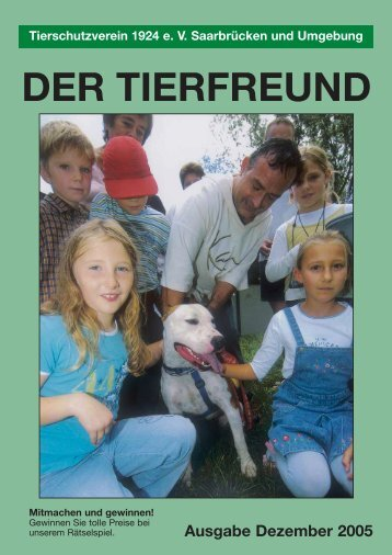 Die Kleintierklinik ist erreichbar unter: (0 68 34) - Tierschutzverein ...