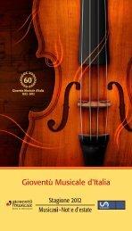 Gioventù Musicale d'Italia - L'Eco di Bergamo
