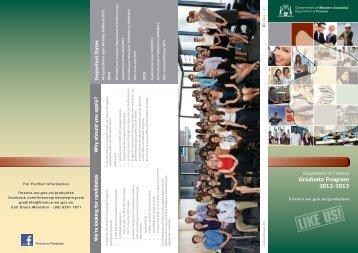 WFP - Graduate program brochure (Finance) - Public Sector ...