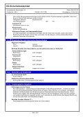 EG-Sicherheitsdatenblatt Bauschaum 1K Pistolenschaum ... - Lugato - Page 5