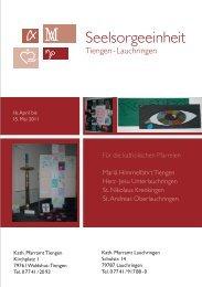 Pfarrbrief04 2011 Osterbrief homepage - Seelsorgeeinheit Tiengen ...