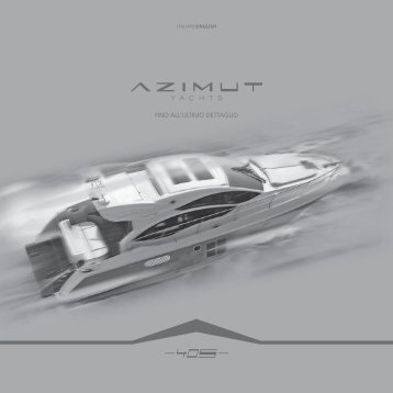 azimut yachts. fino all'ultimo dettaglio. - 5 Star Motor Cruisers