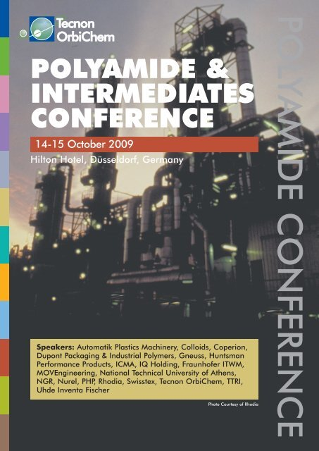 POLYAMIDE & INTERMEDIATES CONFERENCE - FiberSource