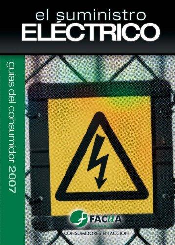 El suministro eléctrico